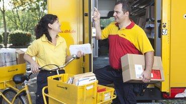 Mitarbeiter der Deutschen Post AG