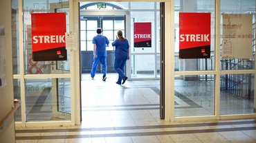 Unbefristeter Streik an Berlins größtem Krankenhaus
