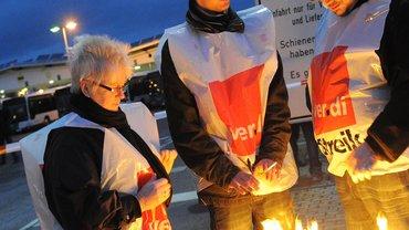 Streik im Brandenburger Nahverkehr