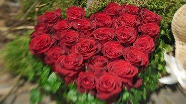 Heute soll's rote Rosen regnen