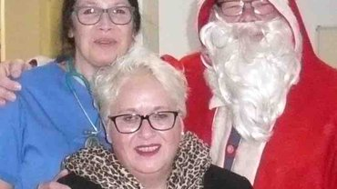Weihnachtsvisite in den SHG Kliniken Völklingen