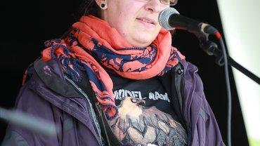 Die Pflegereferentin der Arbeitskammer des Saarlandes Esther Braun