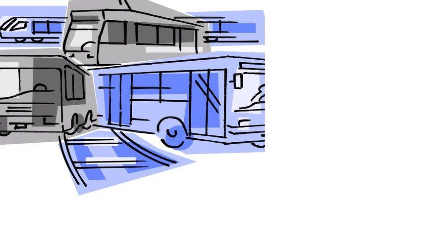 Logo Verkehr