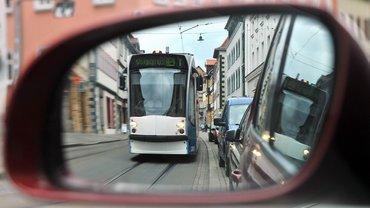 Mit der Tram fahren ist besser!