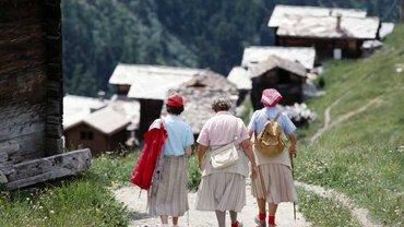 Frauen in der Schweiz müssen sich nicht um ihre Rente sorgen
