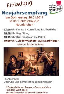 Neujahrsempfang Bezirk Region Saar Trier