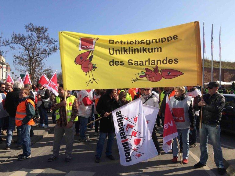 Streikdemo in Mainz