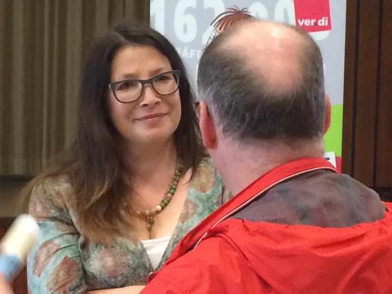 Kollegin Heike Rehkopf war bei der Charité und informierte sich vor Ort