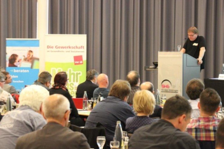 Michael Quetting auf dem Symposium