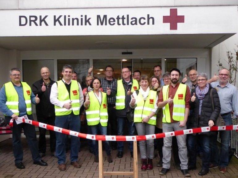 Vor der ersten Hürde: Die Krankenhausvertreter der Region Saar Trier
