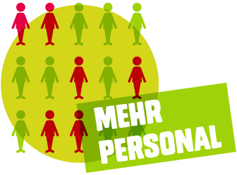 Mehr Personal