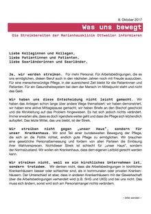 Seite 1 des Briefes