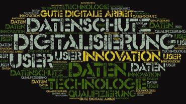 Wordle zum Thema Digitalisierung