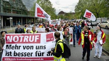 Streik in Berlin 2015