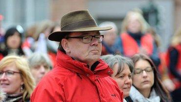 Gewerkschaftssekretär und Krankenpfleger Michael Quetting kämpft für die Pflege