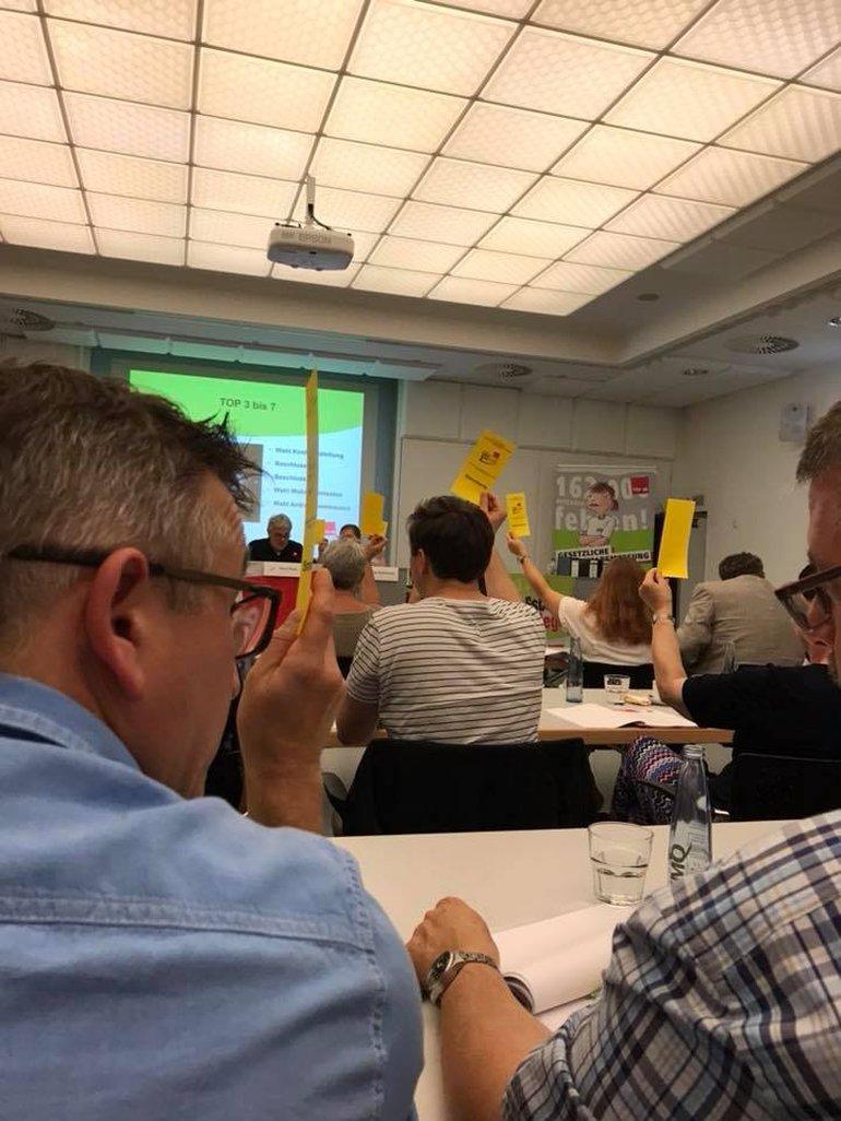Während der Konferenz