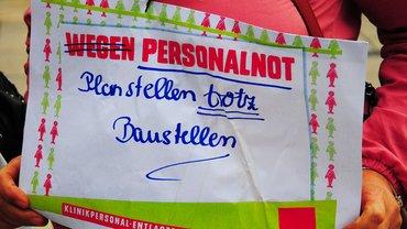 "Klinikum Region Hannover: Warnstreik ""Entlastung"" am 19.09.2017"