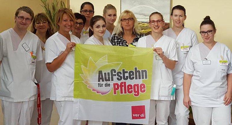 Aktivistinnen vom Saarbrücker Sonnenberg