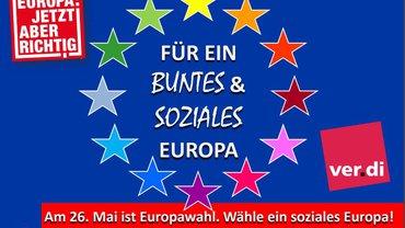 Buntes und soziales Europa