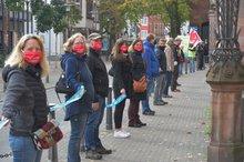 Warnstreik in Saarbrücken