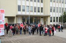 Warnstreik in St.Ingbert