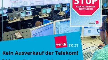 Gegen den Ausverkauf der Telekom