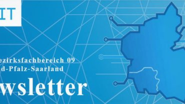 Logo Newsletter Fachbereich TK/IT RPS